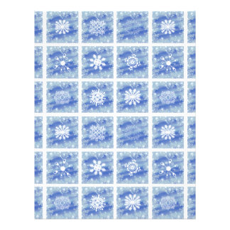 Frosted Panes Letterhead