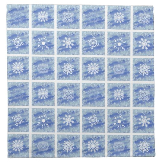 Frosted Panes Napkin