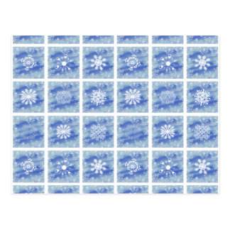 Frosted Panes Postcard