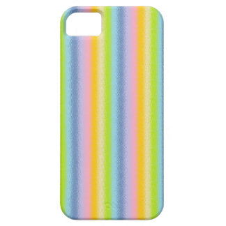 Frosted Pastel Vertical Rainbow iPhone Case
