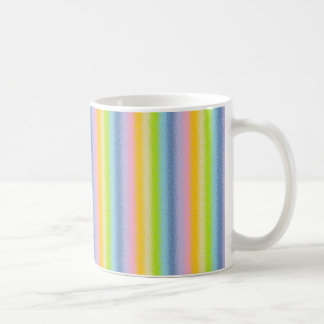 Frosted Pastel Vertical Rainbow Mug