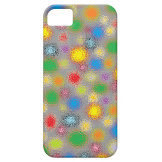 Frosted Polka Dots iPhone SE/5/5s Case