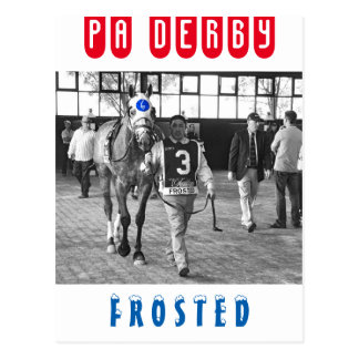 Frosted Postcard