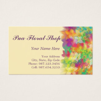 frosted pua ~ bc business card