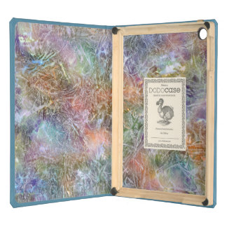 Frosted Rainbow Abstract Art Case For iPad Air