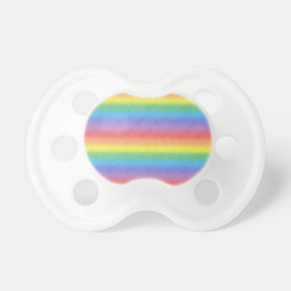 Frosted Rainbow Pacifier