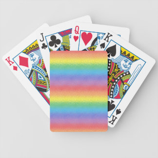 Frosted Rainbow Playing Cards