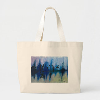 Frosted Reflections - Thomas M. Cavaness Large Tote Bag