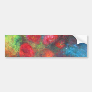 Frosted roses bumper stickers