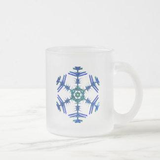 Frosted Snowflake Mug 05