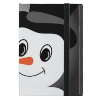 Frosted Snowman iPad Mini Case