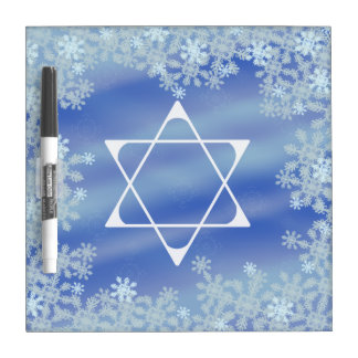 Frosted Star Dry Erase Board