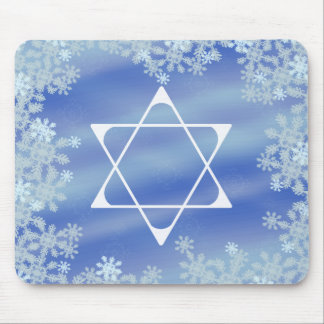 Frosted Star Mouse Pad