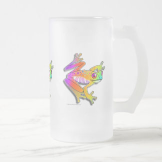 FROSTED STEIN - FROG POP ART