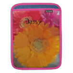 Frosted Summer Orange Gerbera Daisy iPad Mini Case