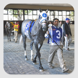 Frosted the Pennsylvania Derby Winner Square Sticker