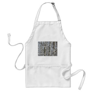 Frosted Trees 2 Adult Apron