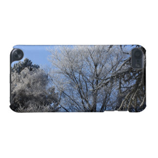 frosted trees iPod touch (5th generation) case