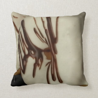 Frosted White Donuts - Throw Pillows