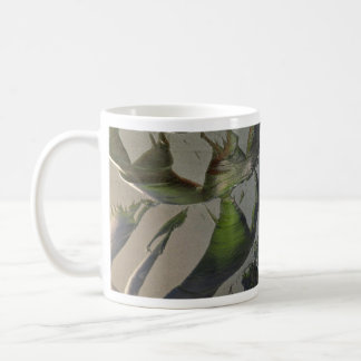 Frosted window-pane coffee mugs