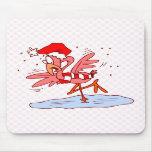 Frostie Flamingo Mouse Pads
