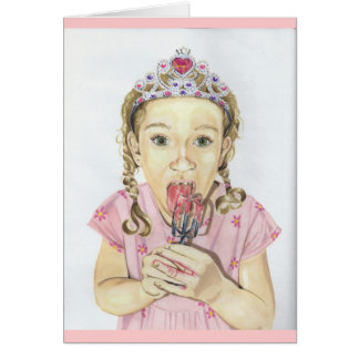 Frosting Princess Card