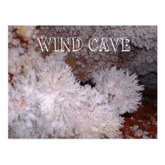 Frostwork and Popcorn Formations, Wind Cave, SD Postcard