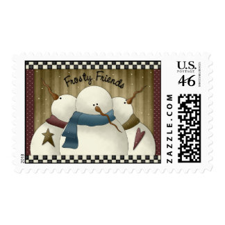 Frosty and Friends Stamps