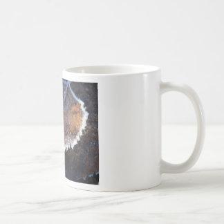FROSTY AUTUMN CLASSIC WHITE COFFEE MUG
