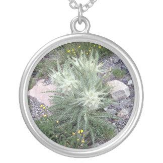 Frosty Ball Alpine Wildflowers Custom Necklace