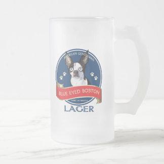 Frosty Beer Mug - Blue-Eyed Boston Lager