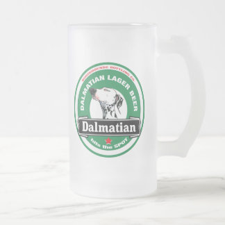 Frosty Beer Mug - Dalmatian Lager Beer