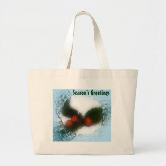 Frosty Blue Holly Berries Bag