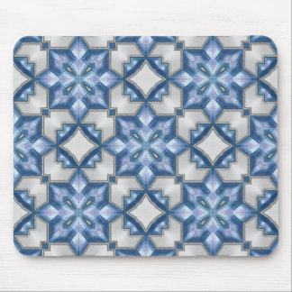 Frosty Blues Mouse Pad