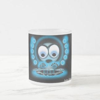 Frosty Buddha Frosted Glass Coffee Mug