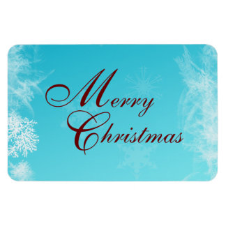 Frosty Christmas Flexi Magnet