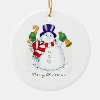 Frosty Christmas Tree Ornaments