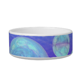 Frosty Clarity –- Azure Beauty & Indigo Depth Bowl