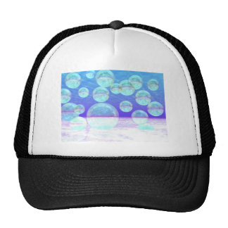 Frosty Clarity –- Azure Beauty & Indigo Depth Trucker Hat