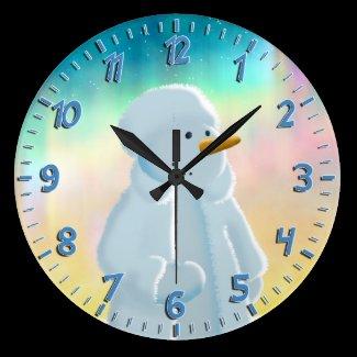 Frosty Clocks