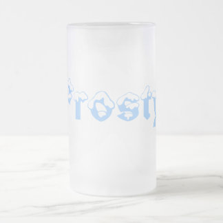 Frosty Designs By Ché Dean Frosted Glass Beer Mug