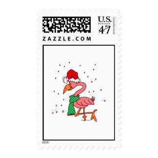 Frosty Flamingo Postage