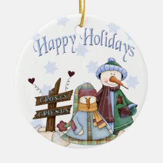 Frosty Friends Ornament