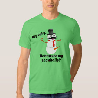 Frosty & His Snowballs T-shirt