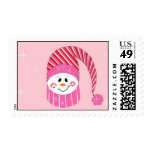 Frosty in Pink Postage