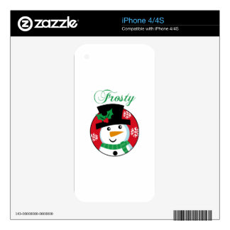 FROSTY iPhone 4 SKINS