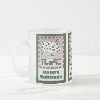 Frosty Javelina Southwest Mosaic Christmas Mug