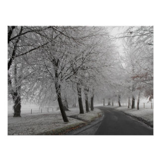 Frosty journey poster