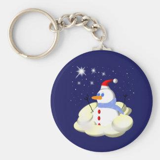 Frosty Keychain