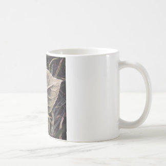 frosty leaf coffee mug
